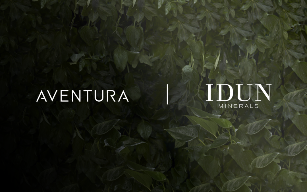 IDUN Minerals and Aventura Partner to Launch the Brand in China