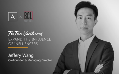 Expand the Influence of Influencers: Co-Founder and Managing Director Jeffery Wang, TicToc Ventures