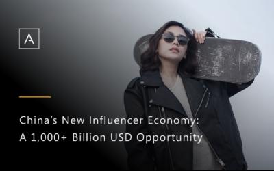 China's New Influencer Economy: A 1,000+ Billion USD Opportunity